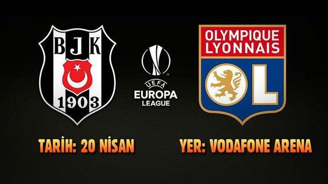 Beşiktaş - Lyon maçı saat kaçta hangi kanalda ? | UEFA Avrupa Ligi