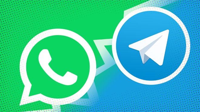 Telegram'dan WhatsApp'a tabutlu gönderme!   Teknoloji